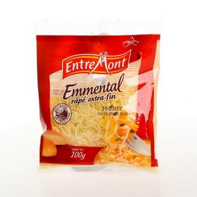 Emmental strouhaný 100g