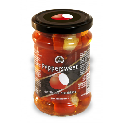 Sladké papričky plněné čerstvým sýrem 250g