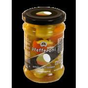 Jemné feferonky plněné čerstvým sýrem 250g