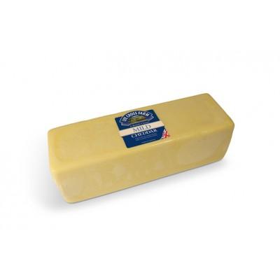 Mild white cheddar 2,5kg