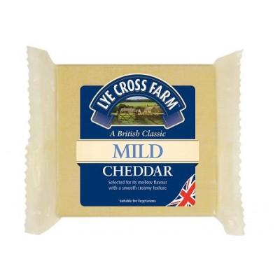 Mild white cheddar 200g