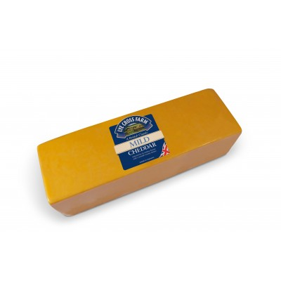 Mild coloured cheddar 2,5kg