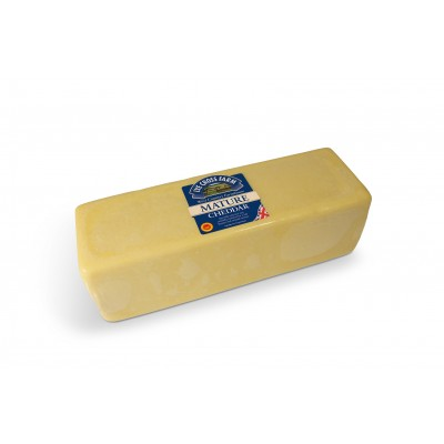 Mature White Cheddar 2,5 kg