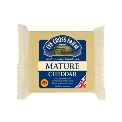 Mature Coloured cheddar 200g